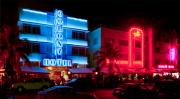 Miami Art - The Ocean Drive by Gary Dean Mercer Clark
