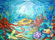 Tropical Fish - The Ocean by Mary Sedici