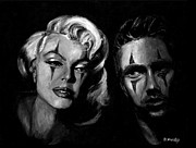 James Dean Painting Originals - The Odd Couple by Brandon Hurley