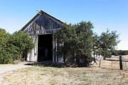 Old Barns Photo Prints - The Old Barn - 5D19194 Print by Wingsdomain Art and Photography