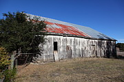 Old Barns Photo Prints - The Old Barn - 5D19196 Print by Wingsdomain Art and Photography