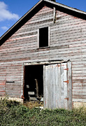 Country Chic Prints - The Old Barn Print by Glennis Siverson