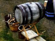Keg Digital Art - The Old Beer Barrel by RC DeWinter