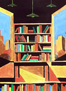 Milton Keynes Prints - The Old Bookstore Print by Zbigniew Rusin