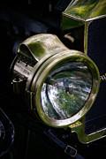 The Old Brass Ford Headlight Print by Steve McKinzie