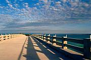 Florida Bridges Art - The old bridge by Susanne Van Hulst