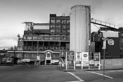 Factory Photo Prints - The Old California and Hawaii Pure Cane Sugar Company in Crockett California . 7D8841 Print by Wingsdomain Art and Photography
