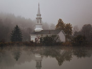 Ponds Art - The Old Chapel by Jeremy Martin