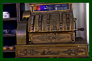Drawers Prints - The Old Copper Cash Machine Print by LeeAnn McLaneGoetz McLaneGoetzStudioLLCcom