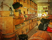 Country Store Metal Prints - The Old Country Store Metal Print by Kim Hojnacki