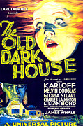 Horror Movies Framed Prints - The Old Dark House, Gloria Stuart, 1932 Framed Print by Everett