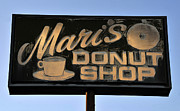Rural Florida Posters - The old donut shop Poster by David Lee Thompson