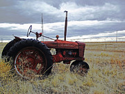 The Old Farmall Tractor 2 Print by Robin Hewitt