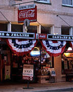 Coca-cola Sign Art - The Old General Store B by Carolyn Ardolino