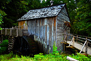 Grist Mill Prints - The Old Grist Mill Print by David Lee Thompson