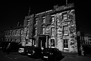 Buxton Posters - The Old Hall Hotel one of the oldest buildings in Buxton Derbyshire England UK Poster by Joe Fox