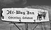 Old Florida Prints - The old Hi Way Inn Print by David Lee Thompson