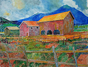 Farm Scenes Originals - The Old Kitzmiller Farm by Donald McGibbon