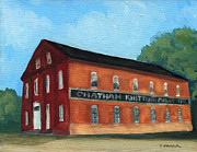 Chatham Painting Posters - The Old Knitting Mill Poster by Debbie Warnock
