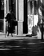 Old Lady Photos - The Old Lady by Osvaldo Hamer
