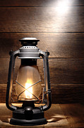 Oil Lamp Prints - The Old Lamp Print by Olivier Le Queinec