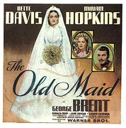 Sideburns Photo Framed Prints - The Old Maid, Bette Davis, Miriam Framed Print by Everett