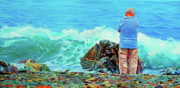 Nova Drawings - The Old Man and the Sea by Kelly McNeil