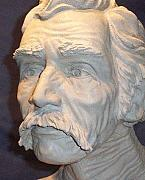 Texas Sculptures - The Old Man by JW Watts