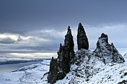 The Summit Art - The Old Man Of Storr, Isle Of Skye by Jeremy Walker