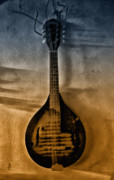 Mandolin Posters - The Old Mandolin Poster by Bill Cannon