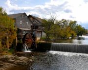 Mass Pike Prints - The Old Mill Print by Brittany H