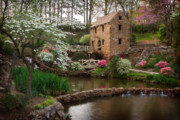 Gone With The Wind Photos - The Old Mill by Jonas Wingfield