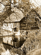 Grist Mill Art - The Old Mill by Michael Dorn