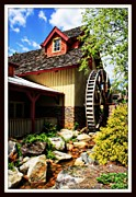 Dream Scape Prints - The Old Mill Print by Teresa Davis