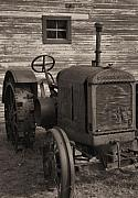 Farming Equipment Photos - The Old Mule  by Richard Rizzo