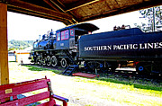 Southern Pacific Posters - The Old No. 90  Poster by Margaret Hood
