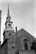 Secrecy Framed Prints - The Old North Church, Officially Called Framed Print by Everett