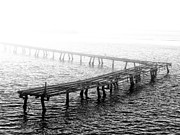 Pier Digital Art - The Old Pier by Bill Cannon