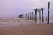 Pier Digital Art - The Old Pier in Ocean City by Bill Cannon