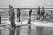 Poles Photos - The old Pier by Scott Norris