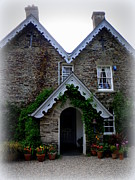 Rectory Prints - The Old Rectory at St. Juliot Print by Lainie Wrightson