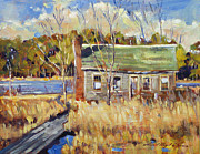 David Lloyd Glover - The Old Relic - plein air