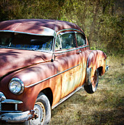 Rusted Cars Photos - The Old Ride by Lisa Moore