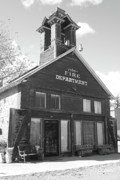 Fire Department Photos - The Old Ridgway Firehouse by Eric Glaser