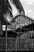 Roller Coaster Originals - The Old Roller Coaster II by Dieter  Lesche