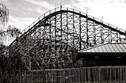 Roller Coaster Originals - The Old Roller Coaster III by Dieter  Lesche