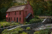 Wood Mill Photos - The Old Snuff Mill by Robin-lee Vieira