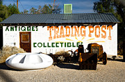 Grocery Store Posters - The Old Trading Post Building Poster by Marius Sipa