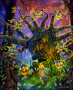 Coins Posters - The Old Tree Of Dreams Poster by Steve Roberts