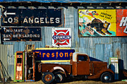 Shed Photo Originals - The Old Truck by Marius Sipa